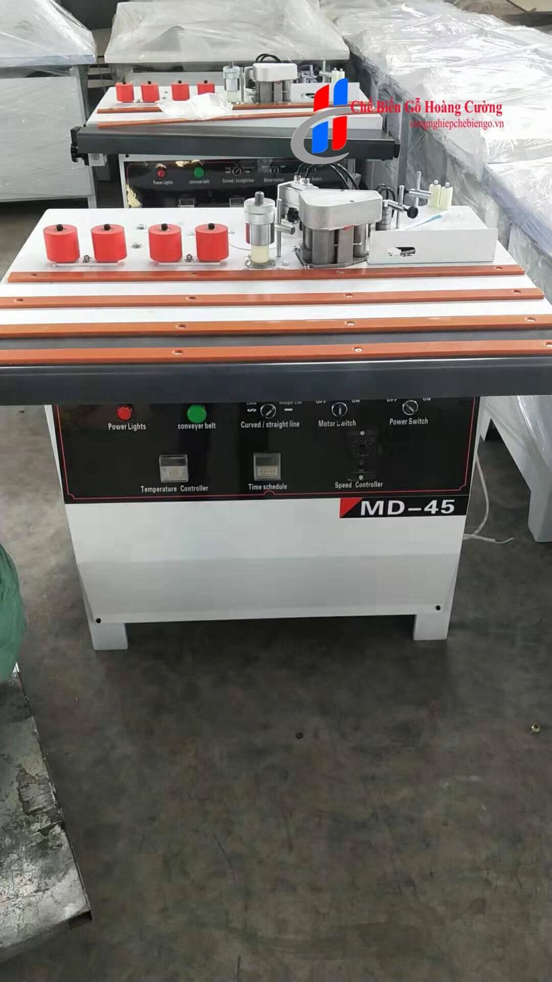 máy dán cạnh nghiêng 45 độ MD-45